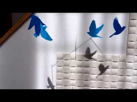 ブルーバードはフリーダム Paper mobile 'Bluebirds are freedom' by ayako.velvet