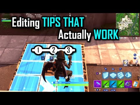 Can't Edit Fast? THIS IS WHY! (Edit Rules) Fortnite Battle Royale