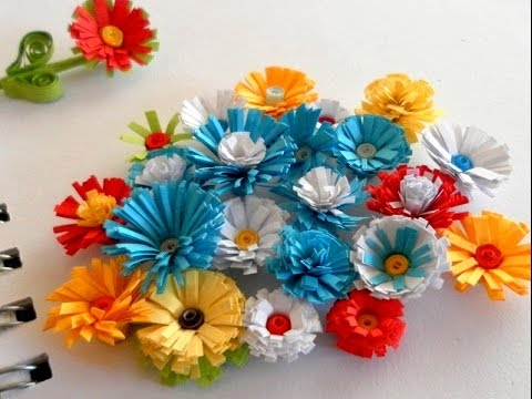 Paper Flower Arts And Crafts