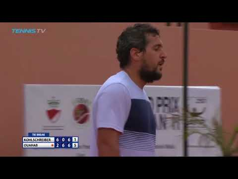 Brilliant Lamine Ouahab shots in win vs Kohlschreiber | Marrakech 2018