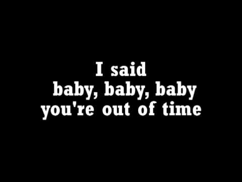 The Rolling Stones-Out Of Time (Lyrics)