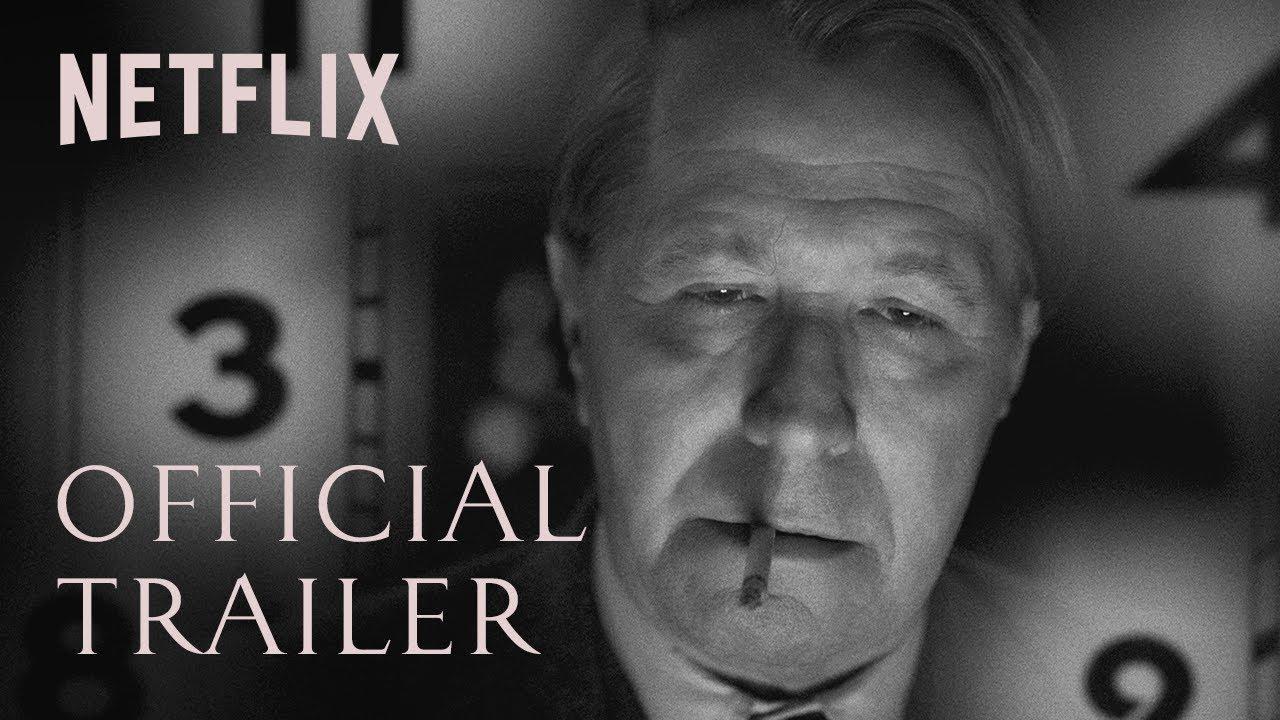 Gary Oldman in Mank trailer door David Fincher