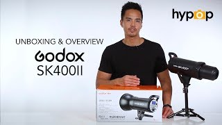 Unboxing and Overview of the Godox SK400II Studio Flash Strobe