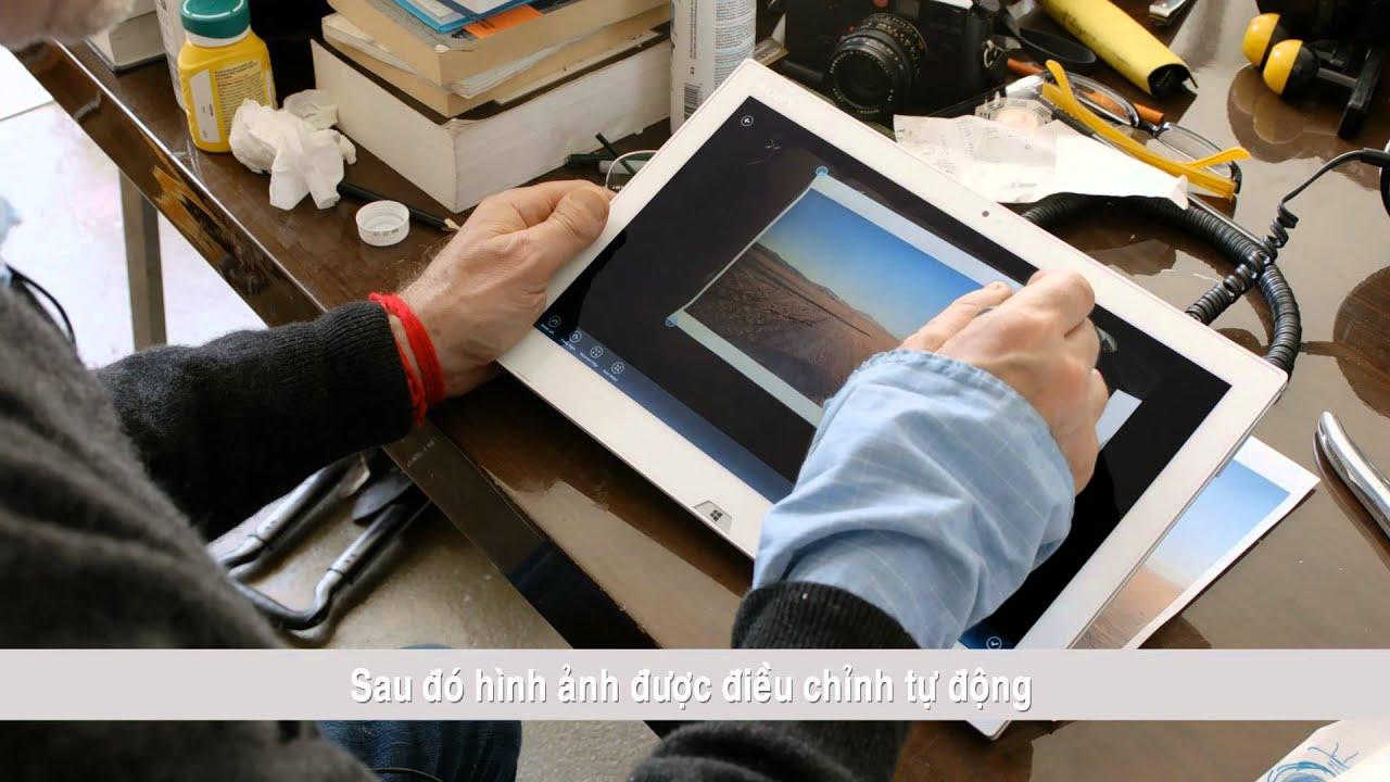 VAIO Duo 13 và chiếc bút cảm ứng kì diệu