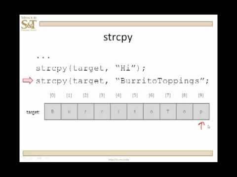 C++ Lesson 13.1 - Built-in Functions for Null-Terminated Character Arrays
