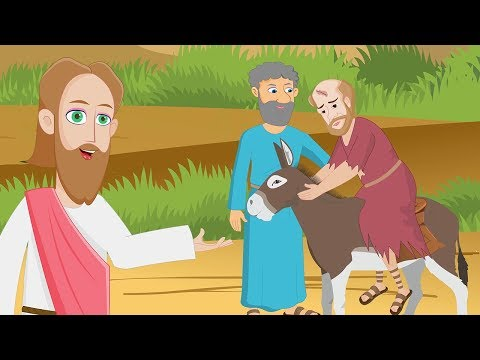 The Good Samaritan - Holy Tales Bible Stories - Parables Of Jesus Christ