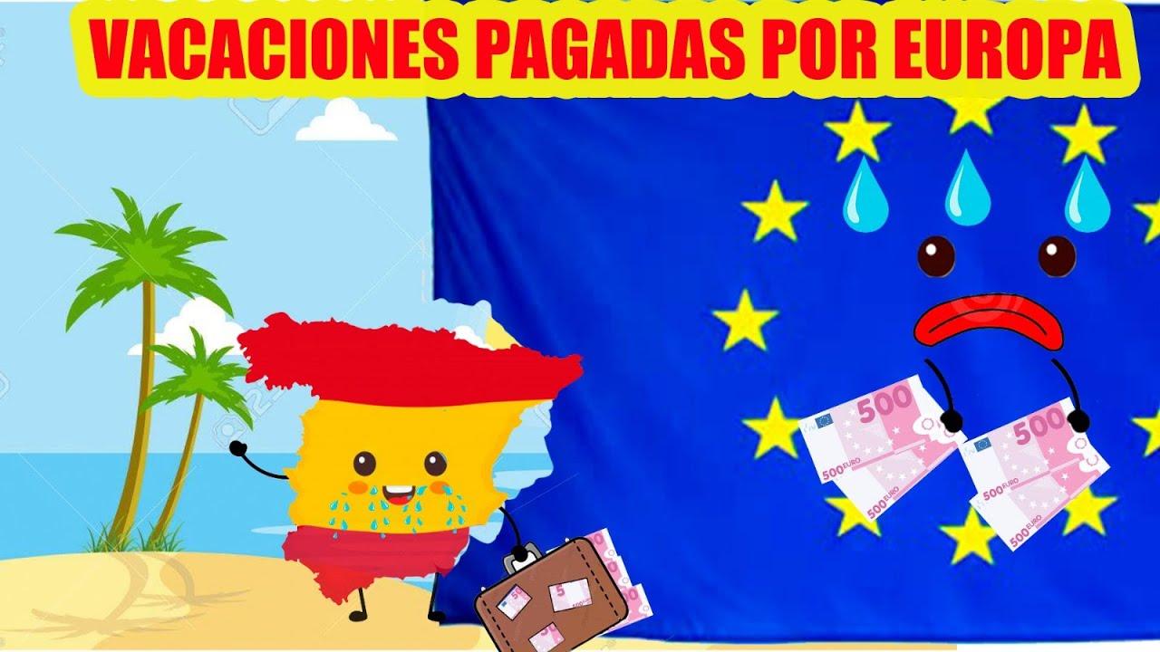 Vacaciones pagadas por Europa - Demos Caña