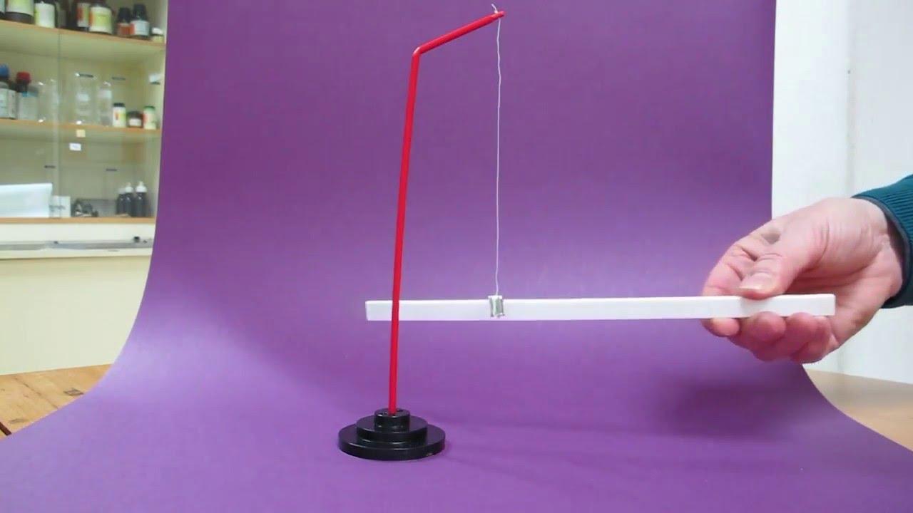las bolas de dos pendulos electricos se electrizan