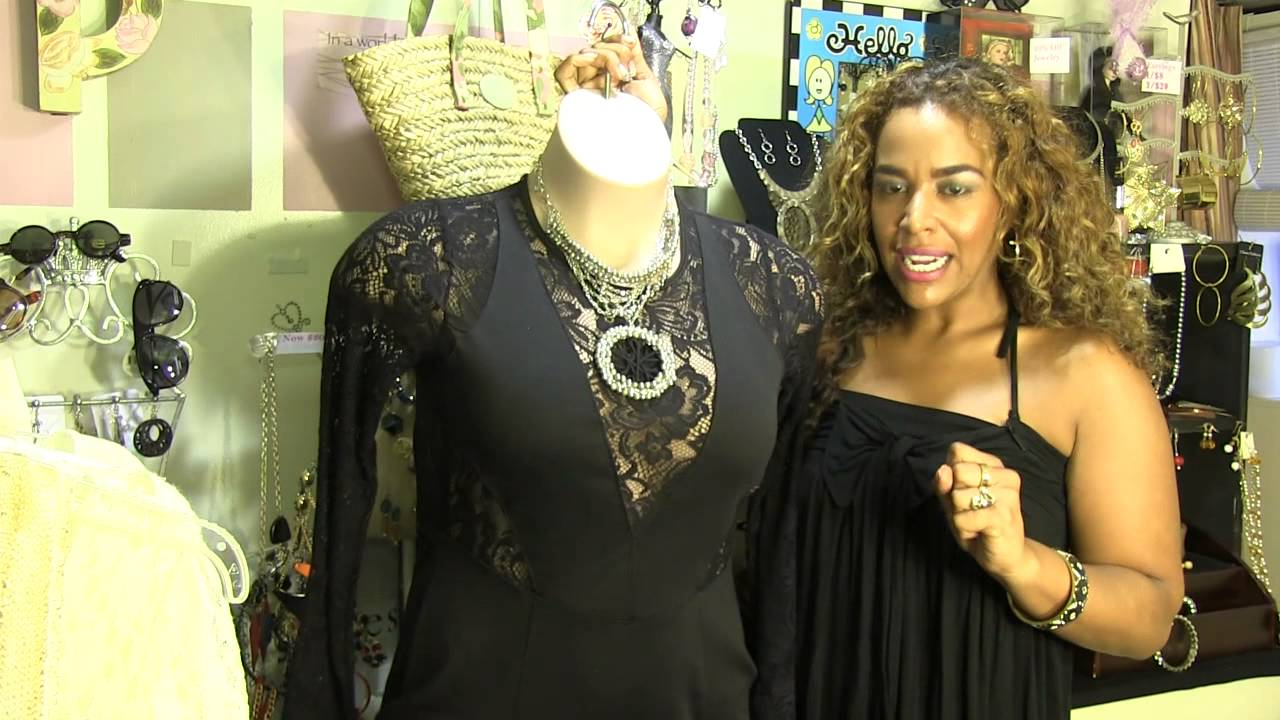 6a463a2ee9e What Color Jewelry Goes With a Black Dress   Red Shoes    Rockin  the Great  Styles - YouTube