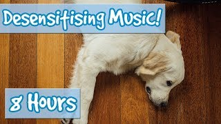 Help Your Fearful dog, Help your Nervous Puppy with our Desensitising Dog Music with Sound effects