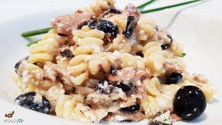 467 - Pasta tonno ricotta e olive...tra le ricettine estive! (primo piatto facile a base di pesce)