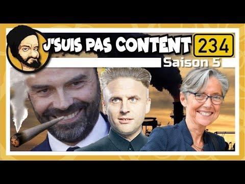 J'SUIS PAS CONTENT ! #234 : Philippe l'écolo, Macron le démago & Borne la dingo !