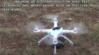 DJI PHANTOM 2 vs WALKERA QR X350 PRO FLIGHT MODE COMPARISON (REDUX)
