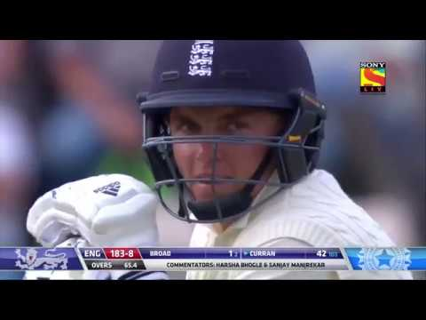 Sam Curran's 2nd Test Fifty Keeps England Afloat   4th Test   30th August, 2018  720 X 1280