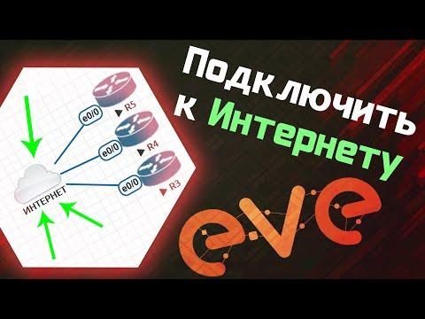 EVE-NG - Подключить к интернету из рабочего пространства / Настройка Eve-ng