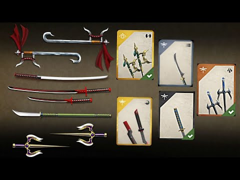 Shadow Fight 2 Top 5 Common Weapon with Shadow Fight 3 Weapons
