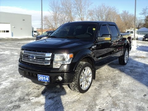 SOLD Used 2014 Ford F150 Limited crew AWD 4x4 Stock  T4126A in