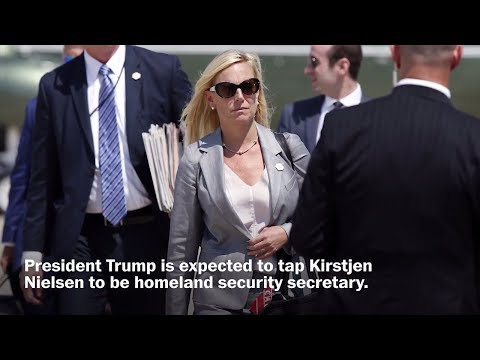 Trump to tap Kirstjen Nielsen to lead Homeland Security Department
