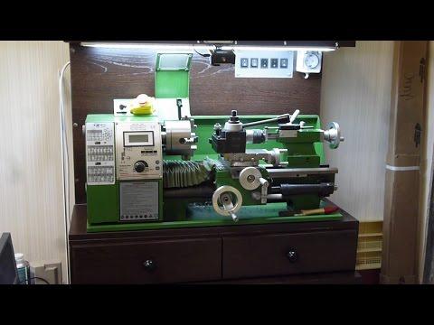 видео: Точная работа на настольном токарном