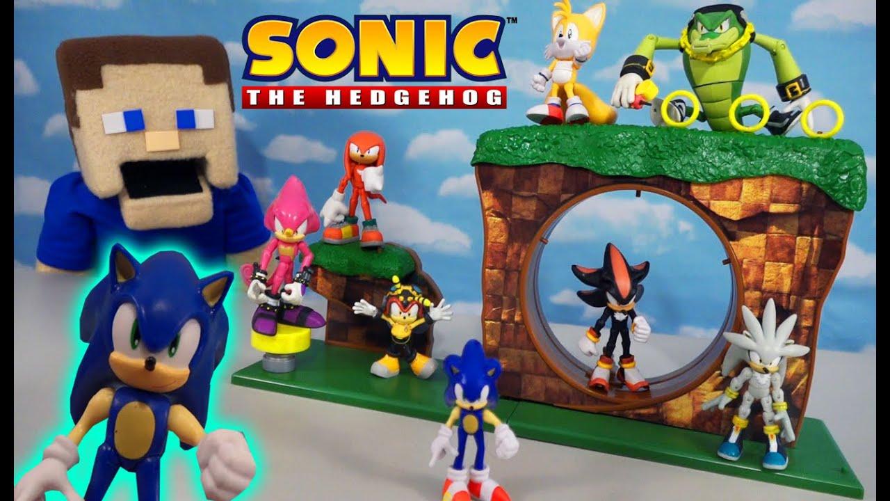 Net Jakks Pacific Sonic The Hedgehog Green Hill Zone Playset CS