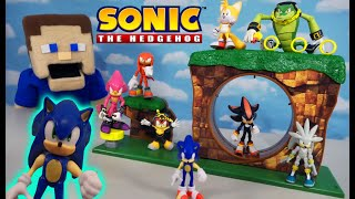 SONIC the Hedgehog Green Hill Zone EPIC Playset by Jakks 2020