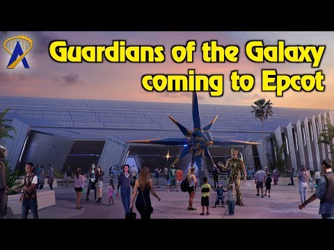 Guardians of the Galaxy ride coming to Epcot at Walt Disney World