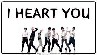 SM*SH - I HEART YOU Lyrics by GOMAWO