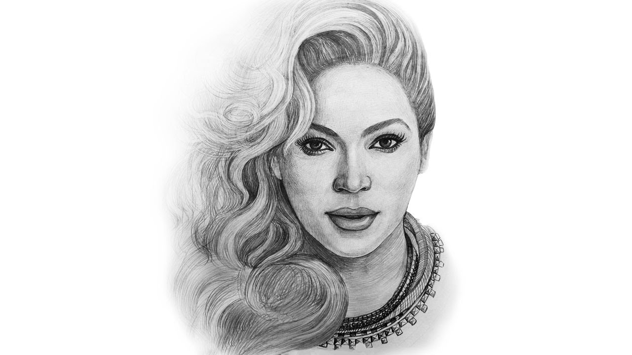 beyonce drawing step by step - photo #12