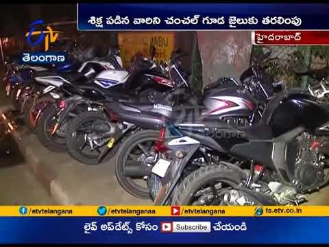 Police book 3821 drunken driving cases at Hyderabad