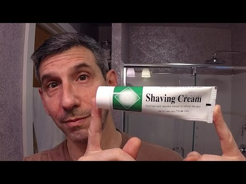 "Shaving Cream for Skin Care / Meißner Tremonia ""White"" aftershave"