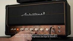 Achillies Amps: ARGOS 40W - jam demo with Charvel HT