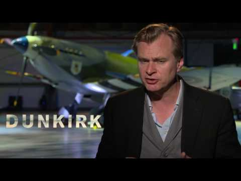 Dunkirk: Director Christopher Nolan Official Movie Interview