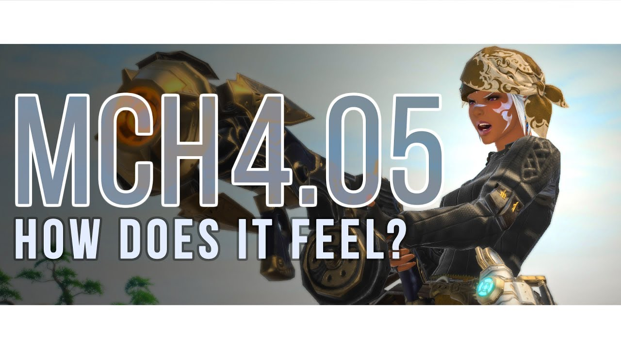FFXIV - Is That a Gun in your Pocket? (4 05 Machinist Changes)