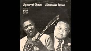 Roosevelt Sykes / Homesick James - Chicago Blues Festival 1970