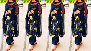 Top 30 Printed Punjabi suit //…