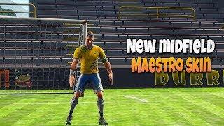 Nuova skin MidField Maestro! 13HP frizione vittoria!- Fortnite Battle Royale Gameplay