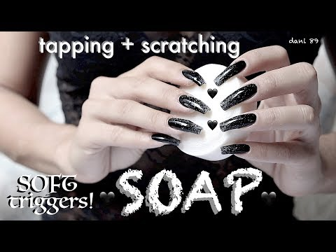 * Blackdeep TRIGGERS! 🖤 Your favorites TINGLES for intense ASMR 🎧 SOAP ❀ TAPPING + Scratching! 🖤