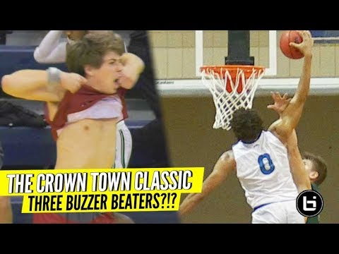 Who Shut Down the Crown Town Classic?! Jalen Cone 50 piece, multiple buzzer beaters & more!!!