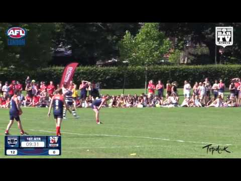 2016 AFL London Premiership Division - West London Wildcats V Wandsworth Demons