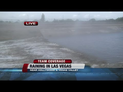 Rain hits all around Las Vegas valley