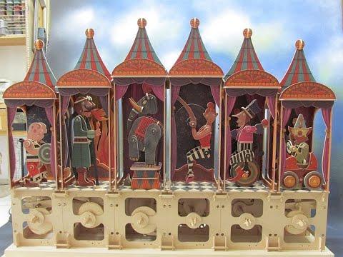 Circus wood kit