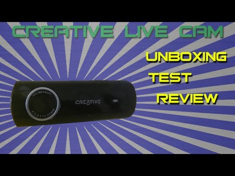 Creative Live! Cam Chat HD - Unboxing, Test & Review