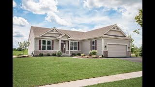 The Kennedy Ranch Model at Huntington Ridge Estates in Harvard IL