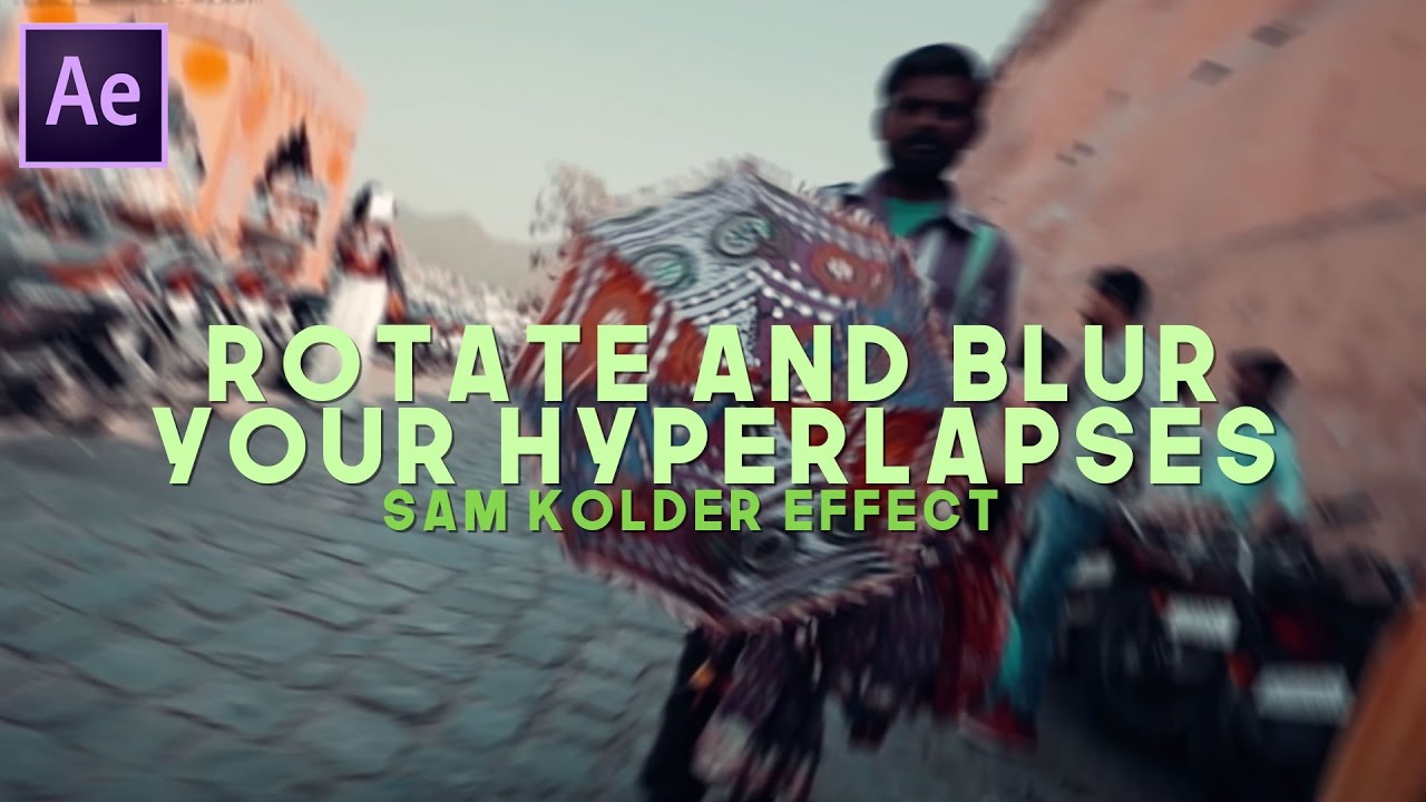 How to rotate and add radial blur to your hyperlapses sam kolder how to rotate and add radial blur to your hyperlapses sam kolder effect ccuart Images