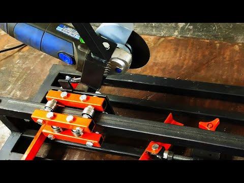 Making sliding angle grinder
