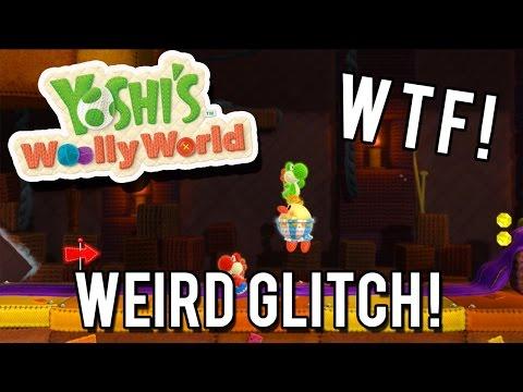 Yoshi's Woolly World - Burt The Bashful Castle Glitch!