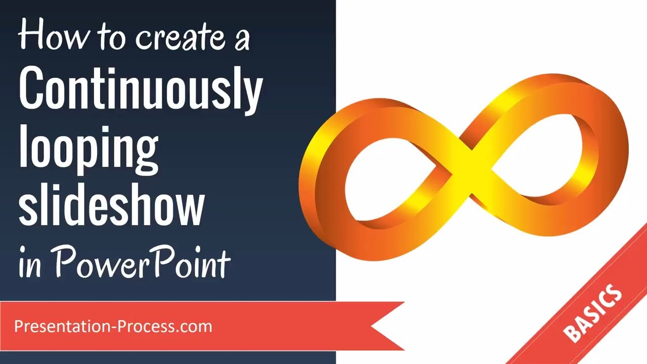 Create a looping ending for your PowerPoint presentation