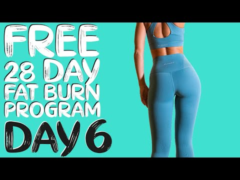 DAY 6 | FREE 28 DAY WORKOUT CHALLENGE | Lean Legs Sculpt & Tone | Timer Included