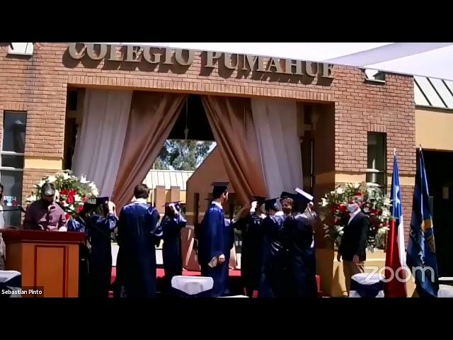 Graduación IV° medios Colegio Pumahue Peñalolén (Grupo 3, 22/12)