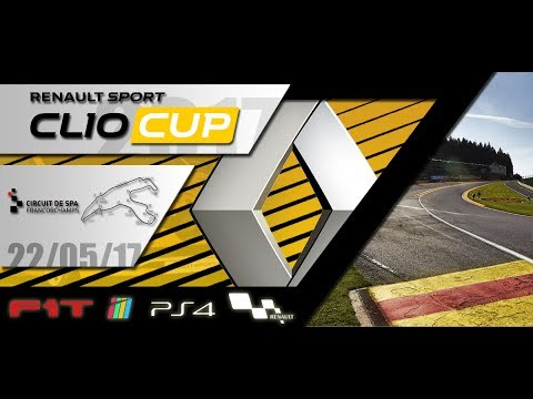 Renault Clio Cup 2017 #08 Spa GP Project Cars 22.05.17 - Live Streaming 1080p